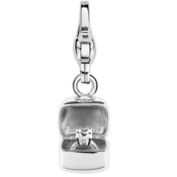 "Charming Ti Sento Anhänger ""Be Mine"" aus 925 Sterlingsilber - 8182ZI"