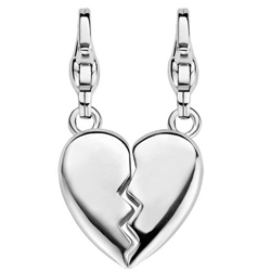 "Charming Ti Sento Anhänger ""Two Is One"" aus 925 Sterlingsilber 8359SI"
