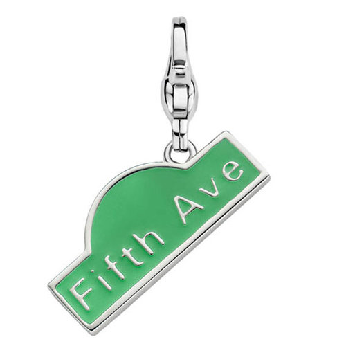 "Charming Ti Sento pendant ""Charm 5th Avenue"" 925 Sterlingsilver 8375GE"