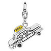 "Charming Ti Sento Anhänger ""Charm Taxi !  "" aus 925 Sterlingsilber 8376YE"