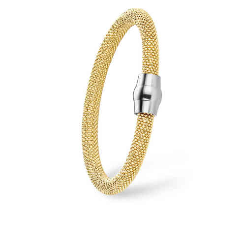 Gilardy Bracelet, 925 Sterlingsilver, big gold plated - 25001G