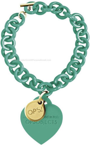 OPS!OBJECTS Bracelet turquoise stainless steel OPSBR-20-1800
