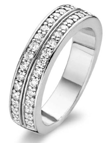 Ti Sento Milano Ring with zirconia - 1824ZI