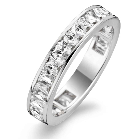 Ti Sento Milano Ring 925 Sterlingsilver with white zirkonia - 1976ZI